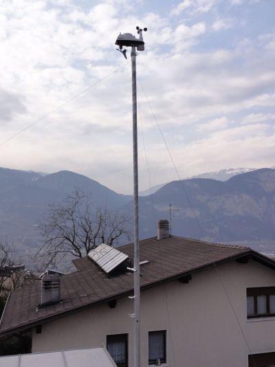 La stazione meteo di Martignano